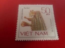VIET-NAM - Buu Chinh - Lemaireocereus - Thurberi - Val 50 Xu - Multicolore - Oblitéré - - Vietnam