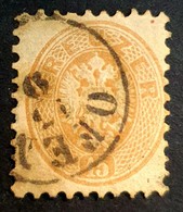 1863-1864 Coat Of Arms, 15 Kr, Austro-Hungarian Monarchy, Austria, Österreich, Autriche, Used - Gebruikt