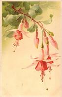 Carte Allemande Illustrée De Fuchsia En Fleur Par Catharina KLEIN Série 1312 - Klein, Catharina