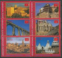 UNO Wien 2000 UNESCO Spanien Bauwerke 319/24 Postfrisch - Neufs