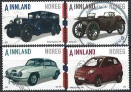 Norwegen Norway 2017. Mi.Nr. 1946-1949, Used O - Gebruikt