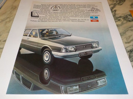 ANCIENNE  PUBLICITE LA 1307/1308 VOITURE CHRYSLER   SIMCA 1979 - Cars