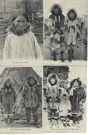 ETATS-UNIS - ALASKA - MISSIONS - 8 CARTES - Chez Les Esquimaux En L'Océan Arctique  - ALASKA - - Autres