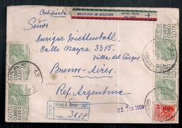 Mexico 1959 - Enveloppe Circulée Moderne - Mexiko