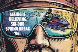 Spring Break 96 - The Biggest Ski-doo Event Of The Year,1996 - Advertising
