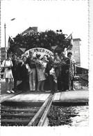 """44 - CHATEAUBRIANT - T.B. Photo Animée 12.4 Cm X 8.7 Cm """" Mon Dernier Train"""" - Fin 103 Ans De Liaisons Avec NANTES - Châteaubriant"""