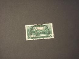 SOMALIA - 1929 MONTECASSINO 20 C.- TIMBRATOI/USED - Somalia