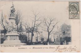 Hasselt  Monument En Nieuwstraat - Rue Neuve 1903 / Boerenkrijg - Hasselt
