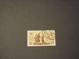 SOMALIA - 1931 S. ANTONIO 20 C. - TIMBRATO/USED - Somalia