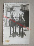 Kingdom Of Yugoslavia - Horses, Officers On Horseback - War, Military