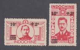 Colonies Françaises - Timbres Neufs** Indochine - N°276 Et 277 - Ungebraucht