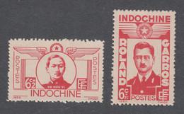 Colonies Françaises - Timbres Neufs** Indochine - N°274 Et 275 - Ungebraucht