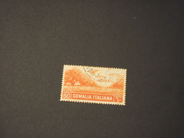 SOMALIA - P.A. 1936 ALBERI 60 C. - TIMBRATO/USED - Somalia