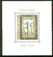 Luxembourg 1974 50th Anniversary Of Christmas Charity Stamps M/sheet Unmounted Mint, SG MS 942 - Ongebruikt