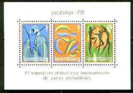 Luxembourg 1978 'Juphilux 78' Junior Int Stamp Exhibition M/sheet Unmounted Mint, SG MS 1003 - Ongebruikt