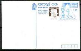 Sri Lanka 1996 Cricket World Cup Champions 1r P/stationery Card - Sri Lanka (Ceylon) (1948-...)