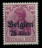BES 1WK LP BELGIEN Nr 21a Ungebraucht X77B382 - Ocupación 1914 – 18