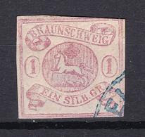 Braunschweig - 1852 - Michel Nr. 1 ND - Gestempelt - Brunswick
