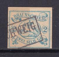 Braunschweig - 1852 - Michel Nr. 2 ND - Gestempelt - Brunswick