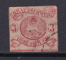 Braunschweig - 1852 - Michel Nr. 3 ND - Gestempelt - Brunswick