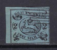 Braunschweig - 1853 - Michel Nr. 7 ND - Gestempelt - Brunswick