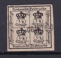 Braunschweig - 1857 - Michel Nr. I ND - Gestempelt - Brunswick