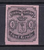 Bremen - 1856 - Michel Nr. 2 - Ungebr. - 100 Euro - Bremen