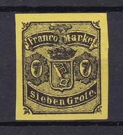 Bremen - 1860 - Michel Nr. 3 - Ungebr. - 130 Euro - Bremen