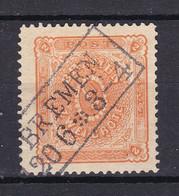 Bremen - 1866 - Michel Nr. 10 - Gestempelt - 450 Euro - Bremen