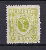 Bremen - 1866 - Michel Nr. 15 - Ungebr. - 90 Euro - Bremen