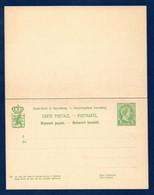 Luxembourg. Entier 5 C Vert. Réponse Payée  P55. 1895 - Postwaardestukken