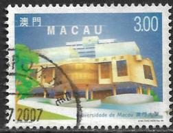Macao Macau – 1999 Modern Buildings 3.00 Used Stamp - Gebruikt