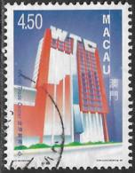 Macao Macau – 1999 Modern Buildings 4.50 Used Stamp - Gebruikt