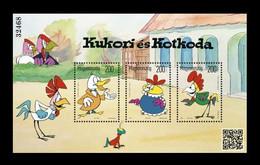 Hungary 2021 Mih. 6227/29 (Bl.462) Cartoon Kukori And Kotkoda MNH ** - Nuovi
