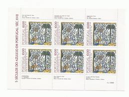 Portugal 1982 - 500 Years Portuguese Tiles, Issue 6 S/S MNH - Blokken & Velletjes
