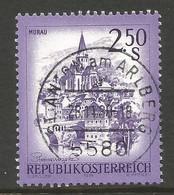 AUSTRIA. 2.50s BUILDINGS USED ST ANTON AM ARLBERG POSTMARK - 1971-80 Usados