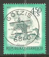 AUSTRIA. 4.50s BUILDINGS USED GOTIS POSTMARK - 1971-80 Usados