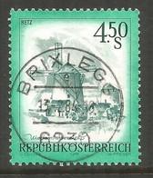 AUSTRIA. 4.50s BUILDINGS USED BRIXLEGG POSTMARK - 1971-80 Usados