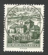 AUSTRIA. BUILDINGS. 1.30s USED LIENZ OSTTIROL POSTMARK - 1961-70 Usados