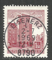 AUSTRIA. BUILDINGS. 1.50s USED EISENERZ POSTMARK - 1961-70 Usados