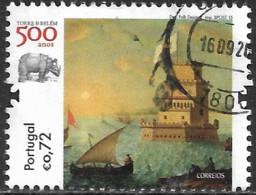 Portugal – 2015 Belém Tower 0,72 Used Stamp - Gebruikt
