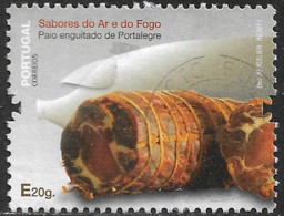 Portugal – 2013 Sausages E Used Stamp - Gebruikt