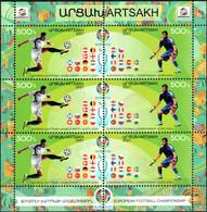 """Artsakh 2021 """"Campionatul European De Fotbal 2020"""" Perforated Sheet Quality:100% - Armenia"""