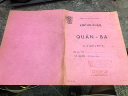 Viet Nam South Book Id-military Records Of Former Government Officials Before 1975(so Quan Ba Si Quan-year-Name/--/1pcs - Old Books