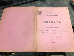 Viet Nam South Book Id-military Records Of Former Government Officials Before 1975(so Quan Ba Si Quan-year-Name/-lam Van - Old Books