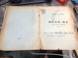 Viet Nam South Book Id-military Records Of Former Government Officials Before 1975(so Quan Ba Si Quan-year-Name/-nguyen - Old Books
