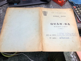 Viet Nam South Book Id-military Records Of Former Government Officials Before 1975(so Quan Ba Si Quan-year-Name/-luong D - Old Books