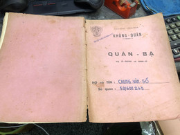 Viet Nam South Book Id-military Records Of Former Government Officials Before 1975(so Quan Ba Si Quan-year-Name/-trung V - Old Books