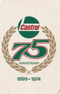 Castrol 1899-1974 Joker 1 Kaart 1 Card - Carte Da Gioco