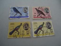 ETHIOPIA USED   STAMPS  BIRD BIRDS - Etiopía